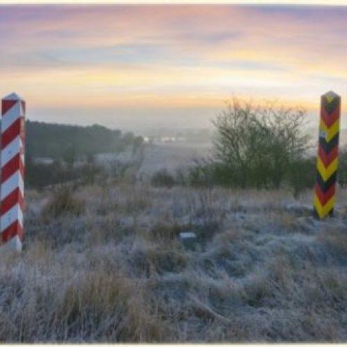 Polish-German border, border posts